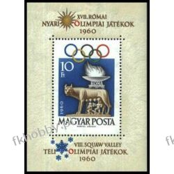 Węgry 1960 BL 30 A ** Olimpiada Rzym Wilk Polonica