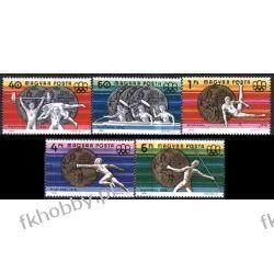 Węgry 1976 Mi 3164-68 ** Olimpiada Montreal  Pozostałe