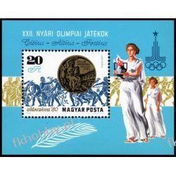 Węgry 1980 BL 145 A ** Olimpiada Moskwa Pozostałe