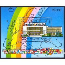 Węgry 1983 BL 168 A ** Europa Cept Polska Flaga  Pozostałe