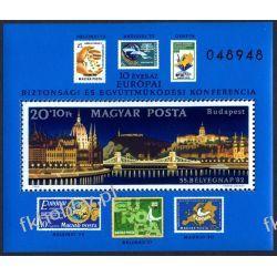 Węgry 1982 BL 159 A ** Cept Most Budapeszt Znaczek Pozostałe