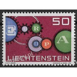 Liechtenstein 1961 Mi 414 ** Europa Cept  Flora
