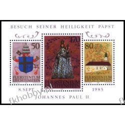 Liechtenstein 1985 Mi BL 12 ** Jan Paweł II Papież  Pozostałe