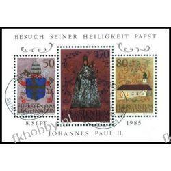 Liechtenstein 1985 Mi BL 12 # Jan Paweł II Papież Druk wklęsły