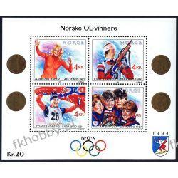 Norwegia 1989 BL 12 ** Olimpiada Lillehammer Sport