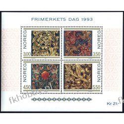 Norwegia 1993 BL 20 ** Dzień Znaczka Ornamenty Pozostałe