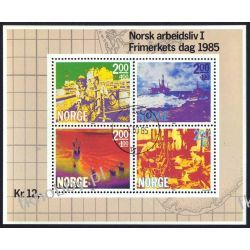Norwegia 1985 BL 5 # Morze Marynistyka Statek Pozostałe