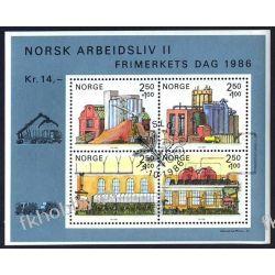 Norwegia 1986 BL 6 # Dzień Znaczka Samochód Pozostałe