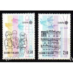 Finlandia 1985 Mi 968-69 ** Europa Cept Muzyka Polonica