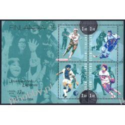 Finlandia 1995 BL 15 ** Piłka Nożna Hokej  San Marino