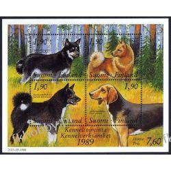 Finlandia 1989 Mi BL 5 ** Pies Psy  Pozostałe