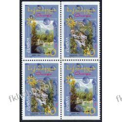 Gruzja 2001 Mi 376-77 D x2 ** Europa Cept Natura Pozostałe