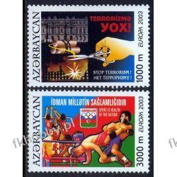 Azerbejdżan 2003 Mi 543-44 A ** Cept Sport Boks  Liechtenstein
