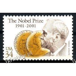 USA 2001 Mi 3444 ** Czesław Słania Alfred Nobel Polskie