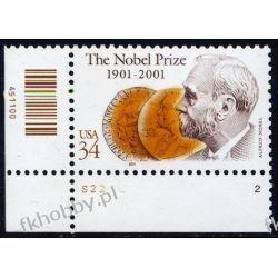 USA 2001 Mi 3444 ** Czesław Słania Alfred Nobel ra Pozostałe