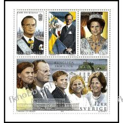 Szwecja 1993 HB 213 ** Słania Rodzina Królewska