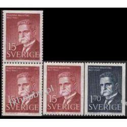 Szwecja 1960 465-66 CD ** Nagroda Nobla Słania
