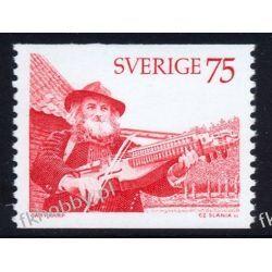 Szwecja 1975 Mi 924 ** Słania Muzyka Folklor Marynistyka