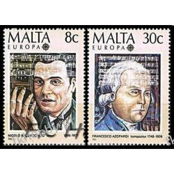 Malta 1985 Mi 726-27 ** Europa Cept Muzyka San Marino
