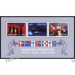 Wyspy Owcze 1993 Mi BL 6 ** Muzyka Fortepian Polonica