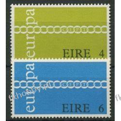 Irlandia 1971 Mi 265-66 ** Europa Cept  Marynistyka