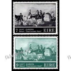 Irlandia 1975 Mi 315-16 ** Europa Cept Konie  Pozostałe