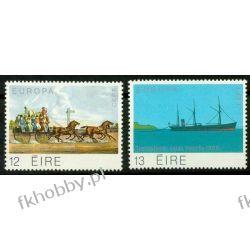 Irlandia 1979 Mi 412-13 ** Europa Cept Statek Koń Pozostałe