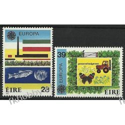 Irlandia 1986 Mi 589-90 ** Europa Cept Motyl Ryba Owady