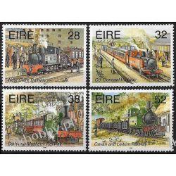 Irlandia 1995 Mi 886-89 ** Kolej Lokomotywy