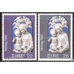 Irlandia 1982 Mi 482-83 ** Boże Narodzenie Flora