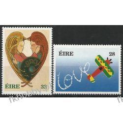 Irlandia 1994 Mi 843-44 ** Walentynki  Marynistyka