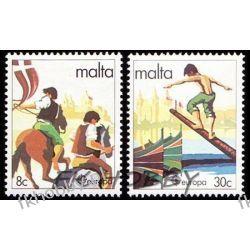 Malta 1981 Mi 628-29 ** Europa Cept Dzieci Koń Polonica