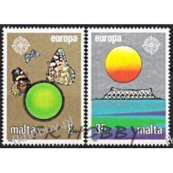 Malta 1986 Mi 746-47 ** Europa Cept Motyle Owady