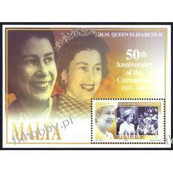 Malta 2003 Mi BL 24 ** Królowa Elżbieta