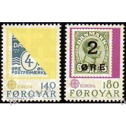 Wyspy Owcze 1979 Mi 43-44 ** Słania Europa Cept Pozostałe