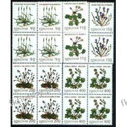 Wyspy Owcze 1980 Mi 48-52 x4 ** Słania Kwiaty Pozostałe