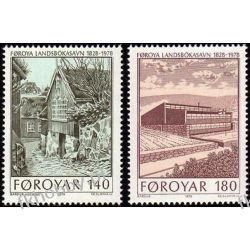 Wyspy Owcze 1978 Mi 39-40 ** Słania Biblioteka Polonica