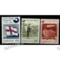 Wyspy Owcze 1976 Mi 21-23 ** Słania Marynistyka Pozostałe