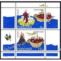 Wyspy Owcze 1994 Mi BL 7 ** Cept Statek Religia