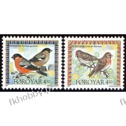 Wyspy Owcze 1997 Mi 315-16 ** Ptaki Pozostałe
