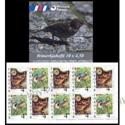 Wyspy Owcze 1999 MH 17 ** Ptaki Flora