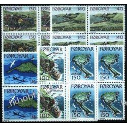 Wyspy Owcze 1978 Mi 31-35 x4 ** Marynistyka Ptaki Pozostałe