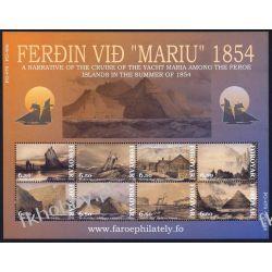 Wyspy Owcze 2008 Mi ark 487-94 ** Statek Żaglowiec Pozostałe