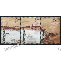 Wyspy Owcze 1986 Mi 139-41 ** Statek Marynistyka Ptaki