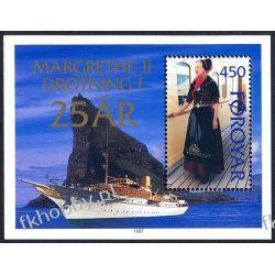 Wyspy Owcze 1997 Mi BL 9 ** Statek Okręt Druk wklęsły