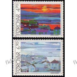 Wyspy Owcze 1987 Mi 160-61 ** Marynistyka Marynistyka