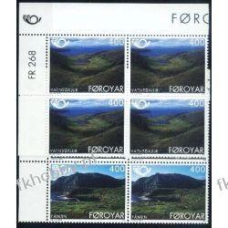 Wyspy Owcze 1995 Mi 276-77 x4 ** Marynistyka