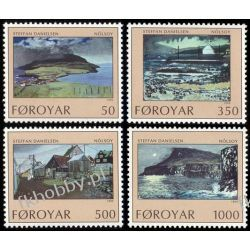 Wyspy Owcze 1990 Mi 207-10 ** Marynistyka San Marino