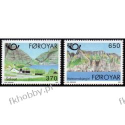 Wyspy Owcze 1991 Mi 219-20 ** Marynistyka