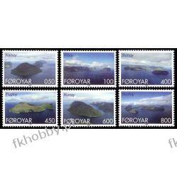 Wyspy Owcze 1999 Mi 356-61 ** Marynistyka